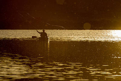Photograph - Sunset Fisher by John McArthur