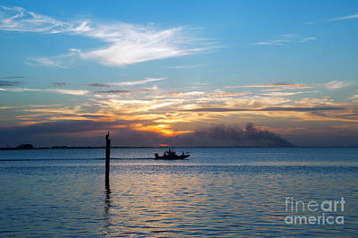 Photograph - Sunset Fishing by Tammy Smith