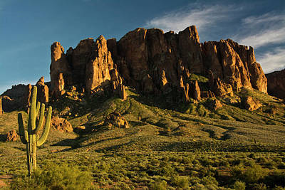 Sunset, Flat Iron Mountain, Lost Art Print by Michel Hersen