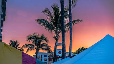 Photograph - Sunset Florida by Louis Ferreira
