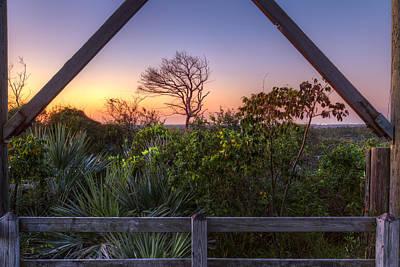 Sunset Frame Art Print