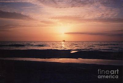 Photograph - Sunset From Clearwater Beach by Lora Duguay