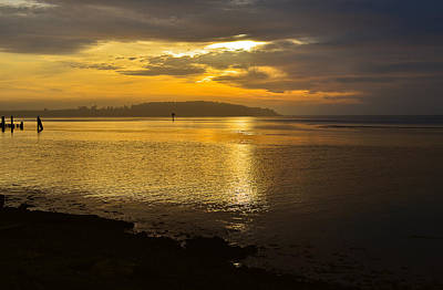 Photograph - Sunset From Fields Landing by Jon Exley