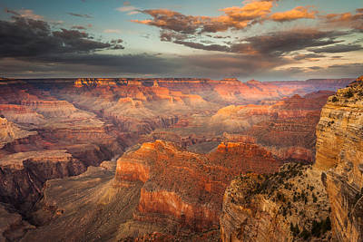 Sunset From Hopi Point Art Print by Rory Wallwork
