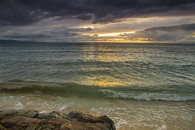 Photograph - Sunset From Kihei by Kunal Mehra
