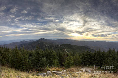 Mitchell Photograph - Sunset From Mt Mitchell Blue Ridge Parkway by Dustin K Ryan