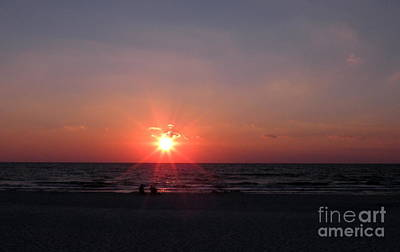 Photograph - Sunset From Port St. Joseph Peninsula by Lora Duguay
