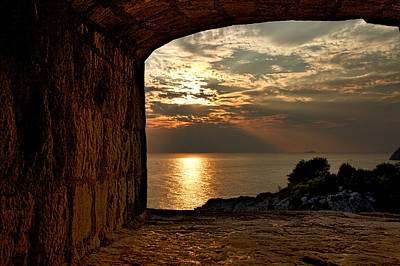 Photograph - Sunset From The Fort by Stuart Litoff