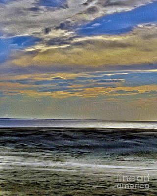 Photograph - Sunset From The Top Of The Dunes by Dawn Gari