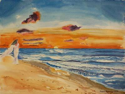 Painting - Sunset by Geeta Biswas
