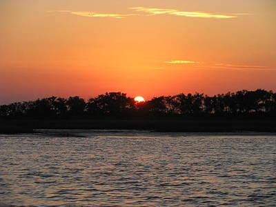 Photograph - Sunset Glow 2 by Ellen Meakin
