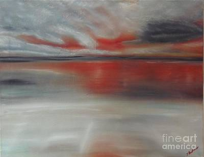 Painting - Sunset Glow by Isabel Honkonen