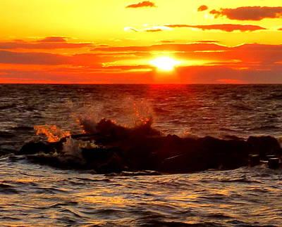Photograph - Sunset Gold by Glenn McCurdy