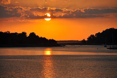 Photograph - Sunset Gold by Joanne Brown