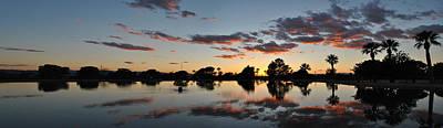 Photograph - Sunset Granada Park Pan 2 by Jeff Brunton