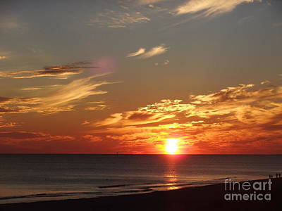 Photograph - Sunset Gulf Shores Alabama by Deborah DeLaBarre