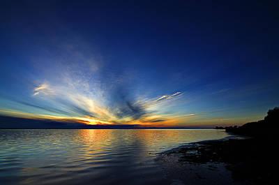 Photograph - Sunset by Henrik Petersen