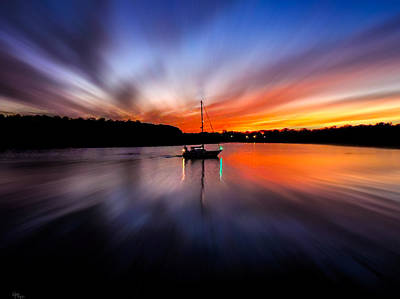Photograph - Sunset Horizon by Glenn Feron