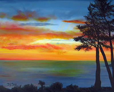 Sunset IIi Print by Dottie Kinn