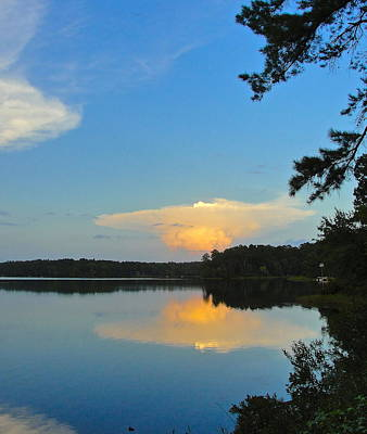Photograph - Sunset Illusion by Norma Brock