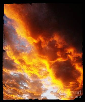 Digital Art - Sunset In Arizona by Steven  Pipella