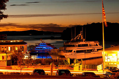 Photograph - Sunset In Bar Harbor by Paul Mangold