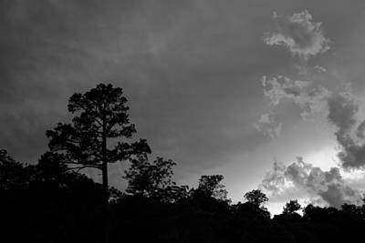 Photograph - Sunset In Black And White by Scott Sanders