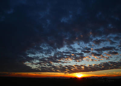 Photograph - Sunset In Blue by Kristy Jeppson