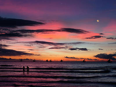 Abendrot Photograph - Sunset In Boracay by Per-Andre Hoffmann