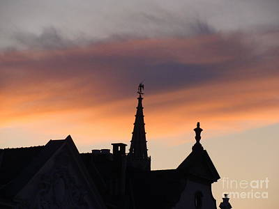 Photograph - Sunset In Brussels by Tiziana Maniezzo