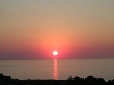 Photograph - Sunset In Calabria Italy by Caroline Stella