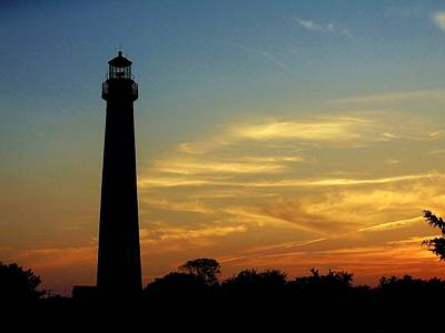 Photograph - Sunset In Cape May by Ed Sweeney