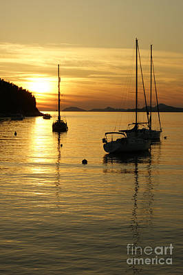 Photograph - Sunset In Cavtat by David Birchall