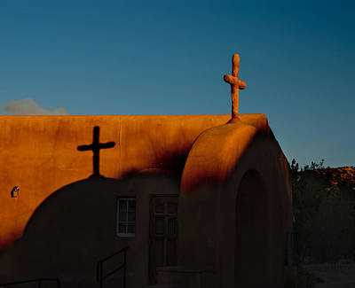 Photograph - Sunset In Chimayo Nm by Julie VanDore