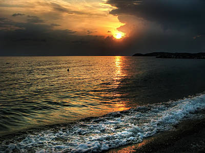 Photograph - Sunset In Greece by Daliana Pacuraru