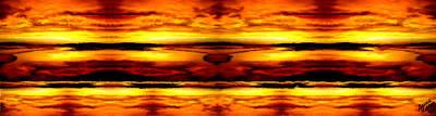 Sunset In Heaven Art Print