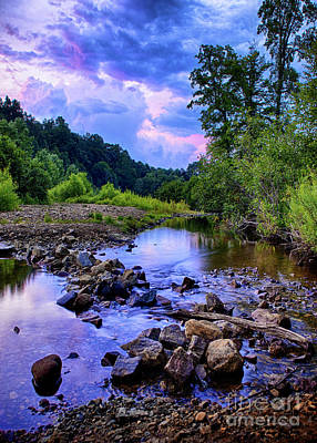 Photograph - Sunset In Hedden Park by Mark Miller