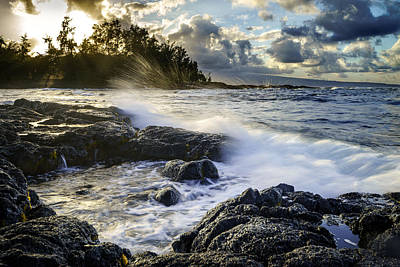 Big Island - Sunset In Hilo Art Print