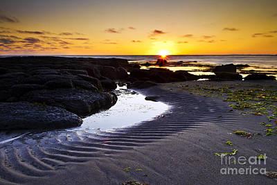 Sunset In Iceland Art Print by Gunnar Orn Arnason