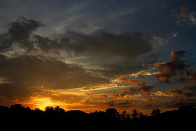 Photograph - Sunset In Karns by Lawrence Scott