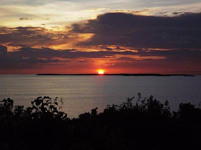 Photograph - Sunset In Key West by Jeanne Donnelly
