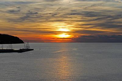 Photograph - Sunset In Koper by Tony Murtagh