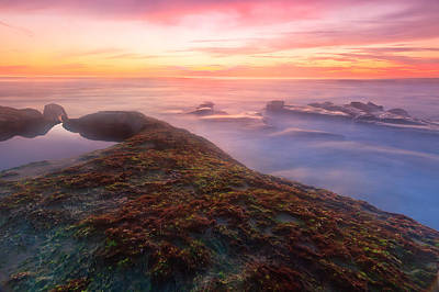 Photograph - Sunset In La Jolla by Ben Graham