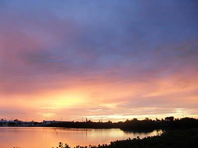Fine Dining - Sunset in Marathon Key by Sheryl Chapman Photography