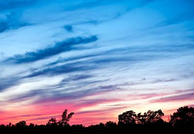 Sunset In Ontario Canada Art Print by Marek Poplawski