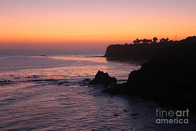 Sunset In Paradise Print by Bev Conover