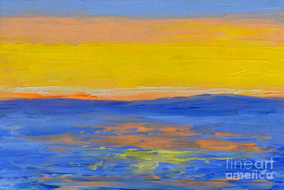 Painting - Sunset In Paradise by Fred Wilson