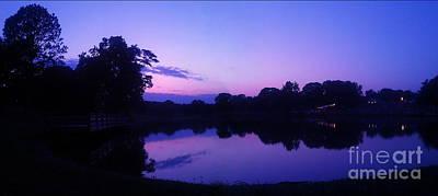 Photograph - Sunset In Purple by Sherri Williams