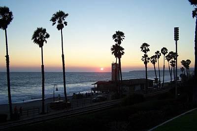 Sunset In San Clemente Original by Theresa Metri