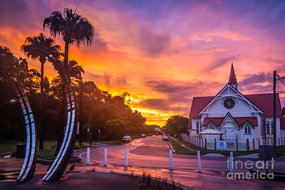 Photograph - Sunset In Sandgate by Silken Photography